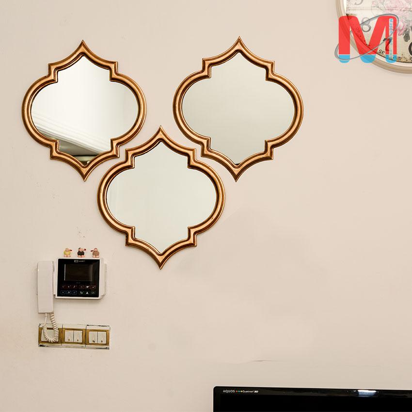 آینه چند تکه شیک و مدرن