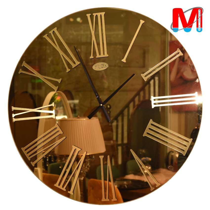 ساعت دیواری آینه ای سایز بزرگ قطر 75