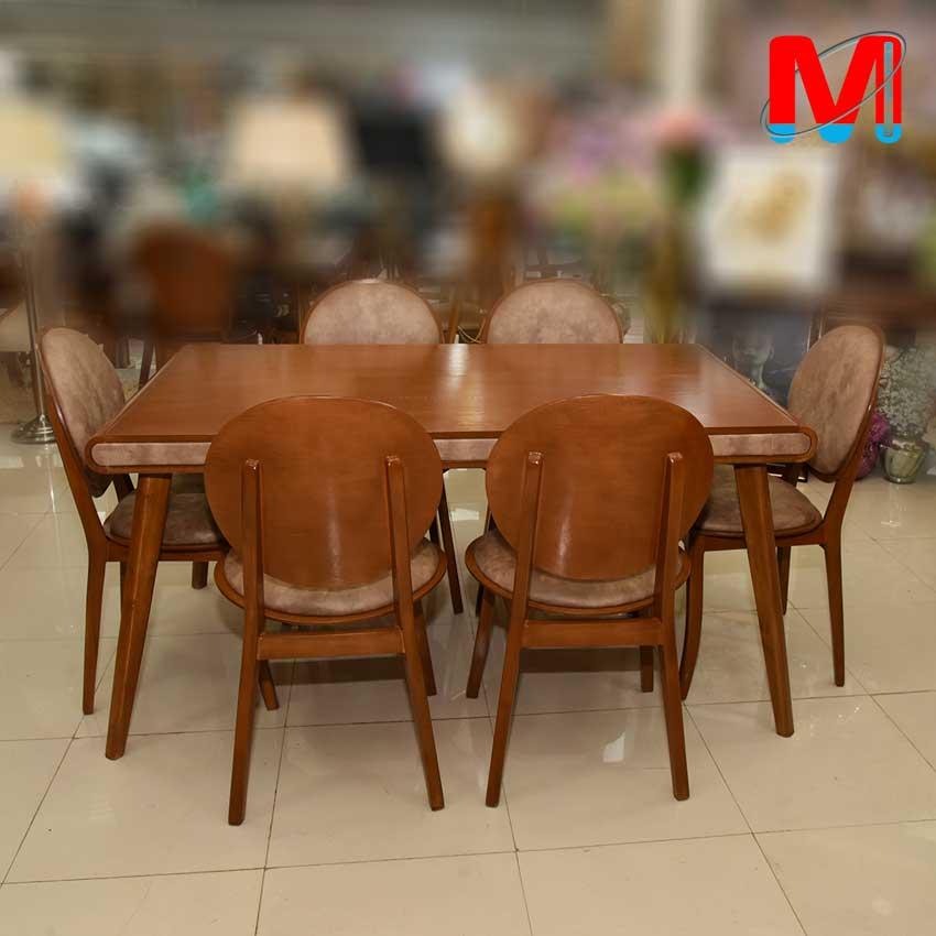 میز ناهار خوری کارن 6 نفره