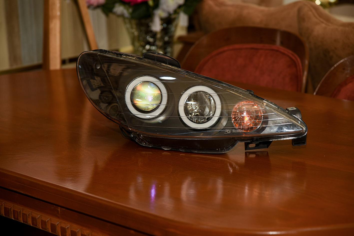 چراغ  سونار 206